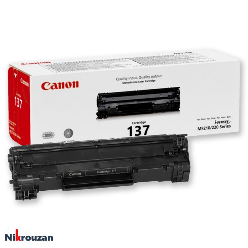 کارتریج لیزری کانن مدل Canon 137