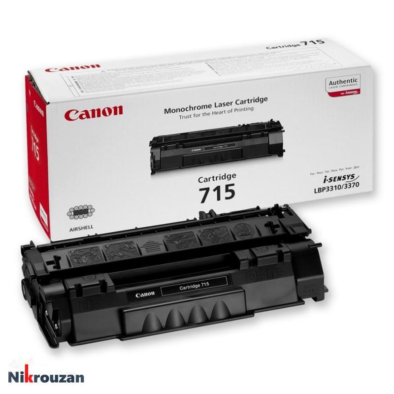 کارتریج لیزری کانن مدل  Canon 715