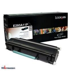 کارتریج لیزری لکسمارک مدل Lexmark E260A11P