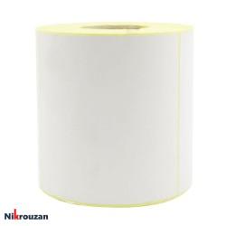 لیبل (برچسب) کاغذی تک ردیفه Paper Label 100×100عکس شماره 1