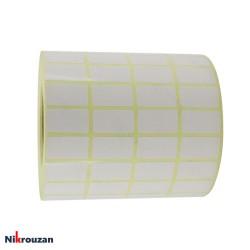 لیبل (برچسب) کاغذی چهار ردیفه Paper Label 12×25عکس شماره 2