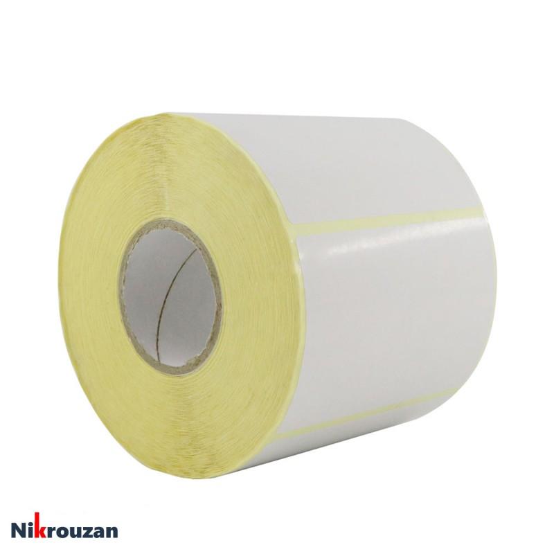 لیبل (برچسب) کاغذی تک ردیفه Paper Label 60×90