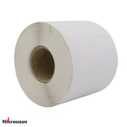 لیبل (برچسب) کاغذی دو ردیفه...