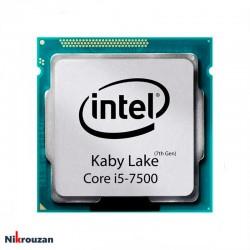 پردازنده مدل CPU Intel Core i5-7500