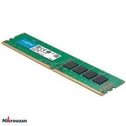 رم کامپیوتر کروشیال مدل Crucial 8GB DDR4 2400MHz C17