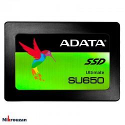 هارد SSD ای دیتا مدل  ADATA Ultimate SU650 120GB