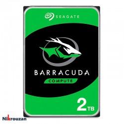 هارد اینترنال سیگیت مدل  Seagate BarraCuda ST2000DM005 2TB