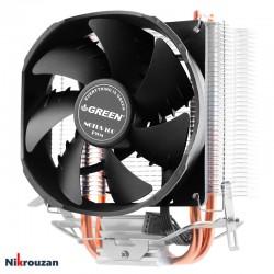 فن خنک کننده CPU گرین مدل Green NOTUS 100-PWM