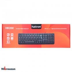 کیبورد هاترون مدل Hatron HK200
