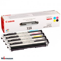 ست کارتریج لیزری رنگی کانن مدل Canon 729