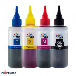 جوهر چهار رنگ وکس برای پرینترهای اچ پی مدل HP Wox 100ml