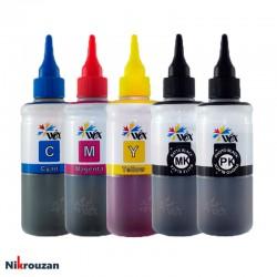 جوهر پنج رنگ وکس برای پرینترهای کانن مدل Canon Wox 100ml