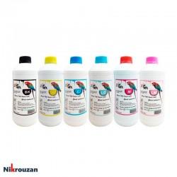 جوهر شش رنگ وکس برای پرینترهای اپسون مدل EPSON Wox 1000ml