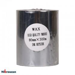 ریبون وکس Wax Ribbon 80×300