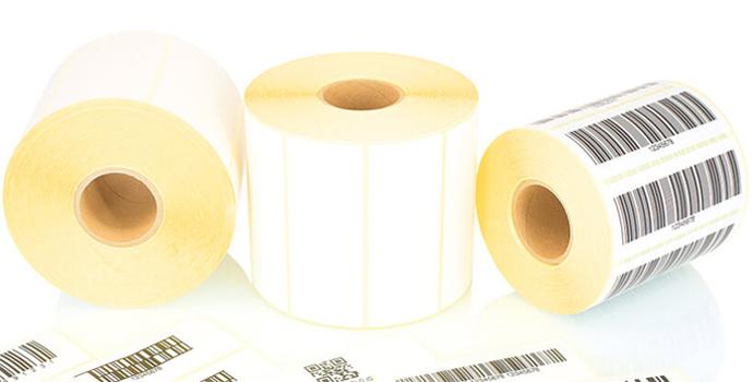 تولید انواع لیبل در سایز های مختلف و چاپ بر روی آن